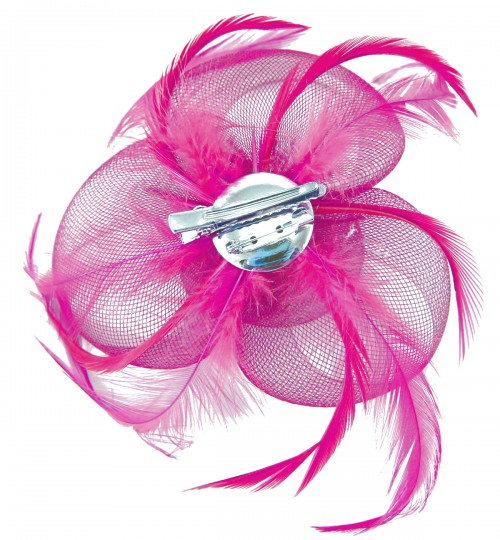 Aurora Collection Swirl and Biots with Diamantes Fascinator