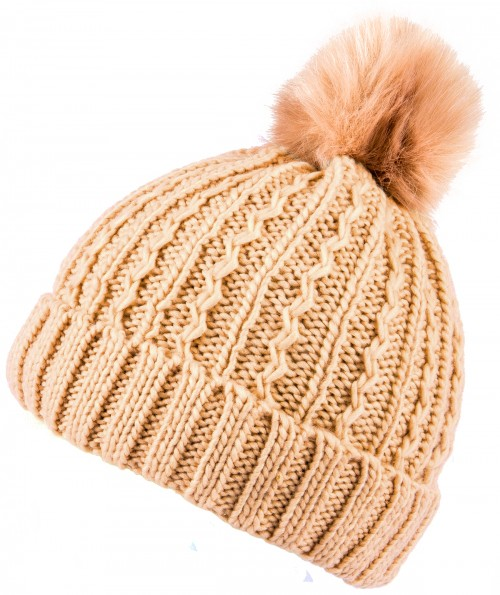 Boardman Sierra Rib Mixed Knit Ladies Beanie Hat