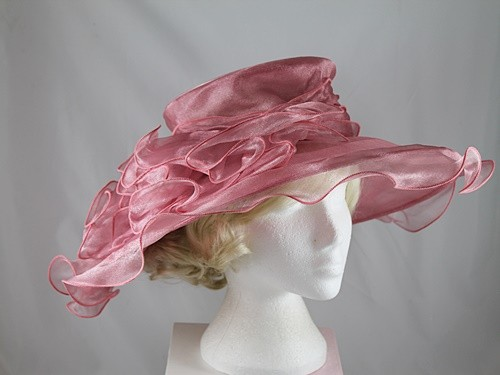 Wide Brimmed Occasion Hat