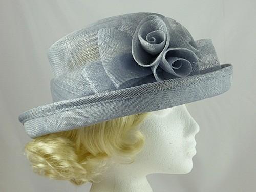 80940a4958 Wedding Hats 4U - Powder Blue Wedding Hat