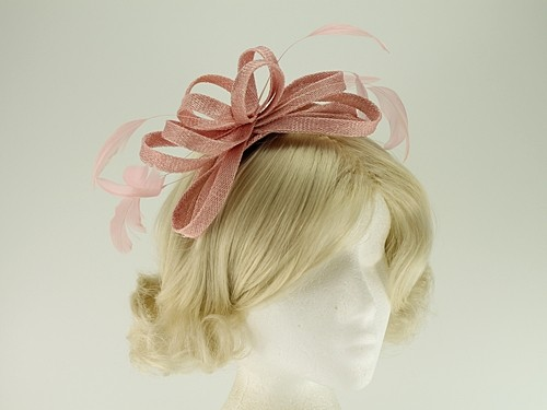 Failsworth Millinery Sinamay Loops Fascinator
