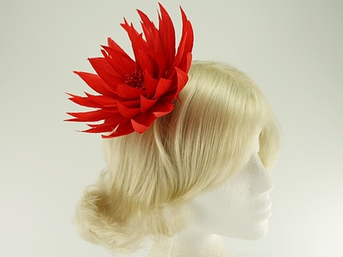 Aurora Collection Feather Fascinator