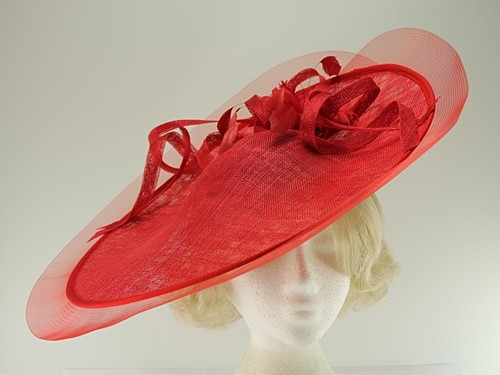 Elegance Collection Saucer Crin Headpiece