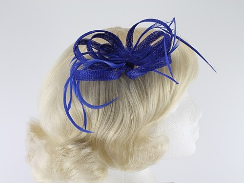 Aurora Collection Loops in Hessian Fascinator