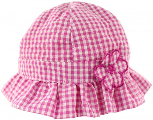 SSP Hats Pink Gingham Baby Girl Hat