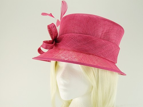 Failsworth Millinery Wedding Hat with Matching Sinamay Occasion Bag