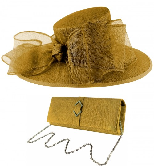 48e6d2c7a Wedding Hats 4U: Gold Mother of the Bride Hats