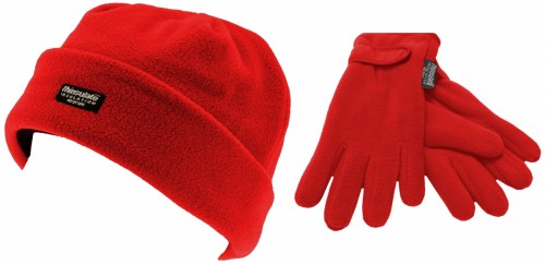 SSP Hats Kids Thinsulate Beanie with Matching Gloves