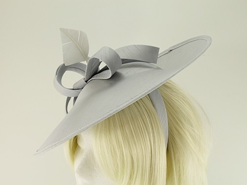 Failsworth Millinery Silk Disc Headpiece