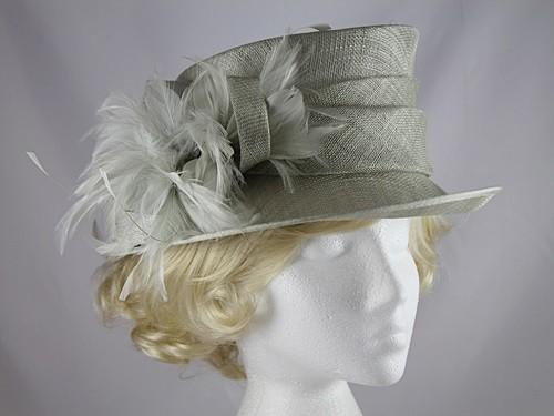 a682a92e Wedding Hats 4U - Failsworth Millinery Small Brimmed Wedding Hat in ...