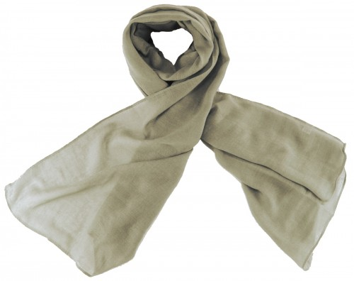 Max and Ellie Fine Woven Scarf in Silver