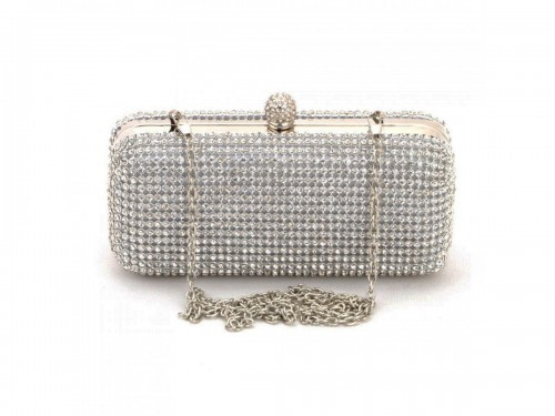 Papaya Fashion Diamante Evening Bag