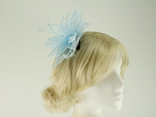 Failsworth Millinery Organza Leaves Fascinator