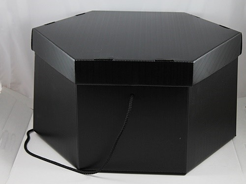 Small Black Hat Box