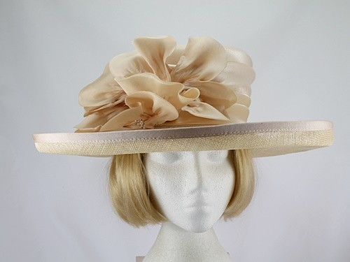 Sombrero Collection Pale Apricot Events Hat