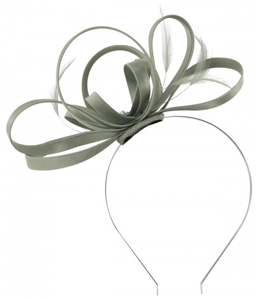 Failsworth Millinery Satin Loops Aliceband Fascinator