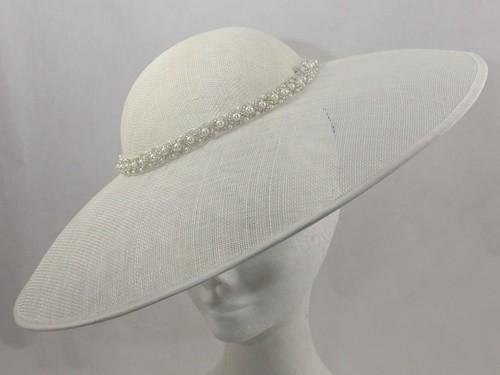 Suzie Mahony Designs Cora Ivory Hat