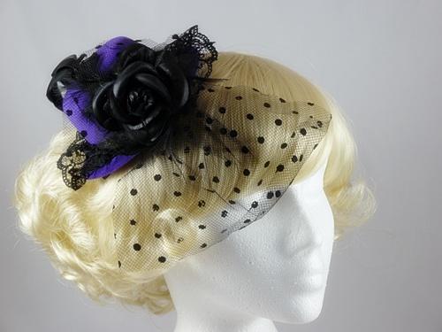 Top Hat with Veil Fascinator