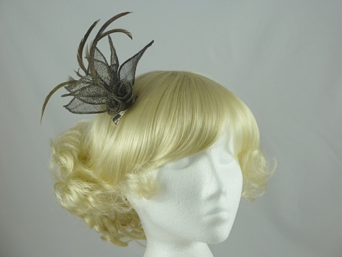 Twin Flower Fascinator