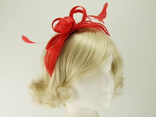 Failsworth Millinery Aliceband Sinamay Fascinator