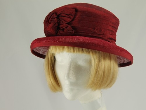 Walter Wright Burgundy Formal Hat
