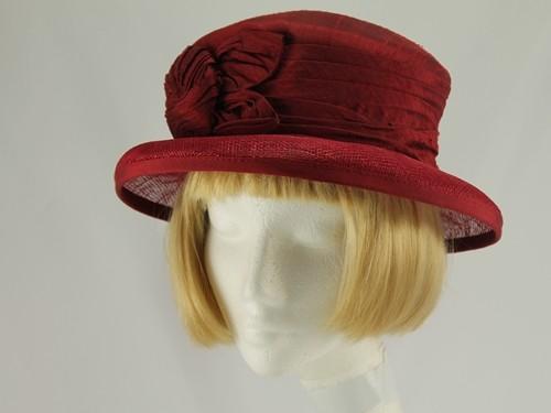 Walter Wright Burgundy Formal Hat