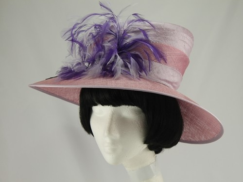 Walter Wright Lilac and Purple Formal Hat
