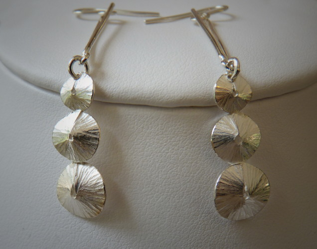 Kay Leeves Studio Designs Wedding Jewellery Earrings