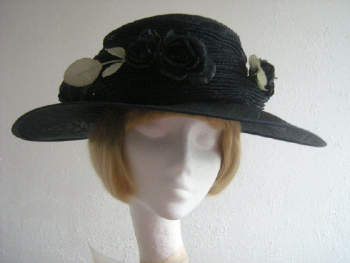 b2359ab9 Ascot Hats 4U - Nigel Rayment Mother of the bride hat Deep Navy in Navy