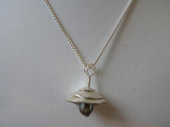Kay Leeves Studio Designs Wedding Jewellery Pagoda Necklace