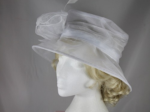 Hawkins Collection Organza Occasion Hat
