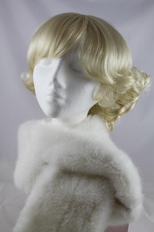 389bbf743c8f6f Winter Hats 4U - Whiteley Alaska Faux Fur Stole in White