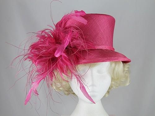 ba2790d990efe Wedding Hats 4U - Whiteley Cerise Occasion Hat