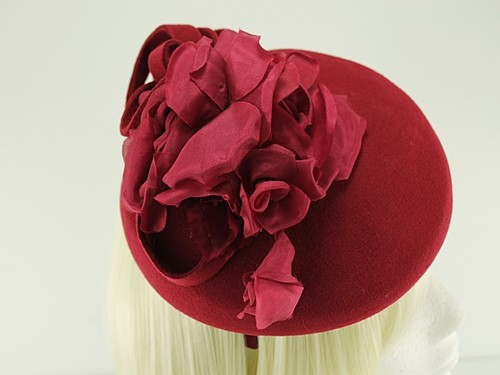 Failsworth Millinery Aliceband Wool Pillbox