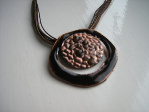 Brown and Bronze Necklace