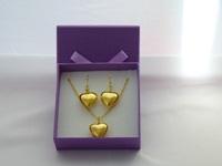 Wedding necklace Hearts