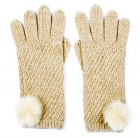Alice Hannah Alina Diagonal Ribbed Gloves