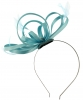 Failsworth Millinery Satin Loops Aliceband Fascinator in Air