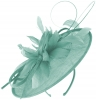 Failsworth Millinery Shaped Sinamay Disc in Air