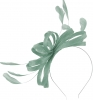 Failsworth Millinery Sinamay Loops Fascinator in Air