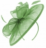 Failsworth Millinery Sinamay Disc Headpiece in Apple