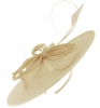 Failsworth Millinery Butterfly Ascot Disc in Birch