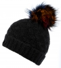 Boardman Blaze Sponge Yarn Beanie in Black