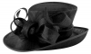 Elegance Collection Events Hat in Black