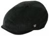 Failsworth Millinery Cord Hudson Baker Boy Cap in Black