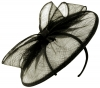 Failsworth Millinery Sinamay Disc in Black