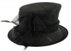 Failsworth Millinery Wedding Hat in Black