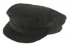 Hawkins Cord Mariner Breton Cap in Black