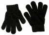 Magic Childrens Stretchy Gloves in Black