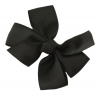 Molly and Rose Small Hair Bow in Black